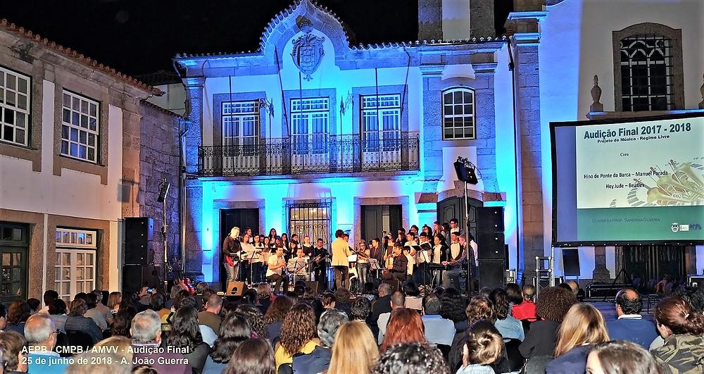 Regime de Ensino Livre da Música  Audição de final de ano com praça cheia | Peneda Gerês TV
