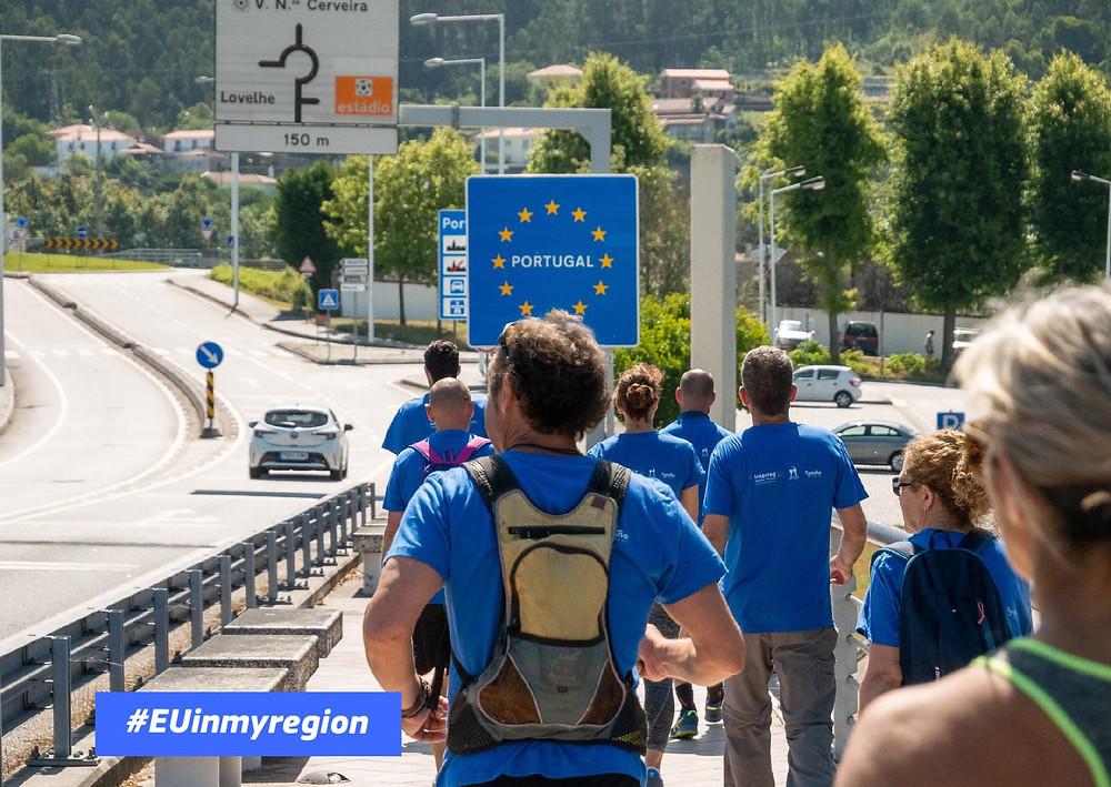 Eurocidade Cerveira-Tomiño selecionada para a campanha #EUinmyregion