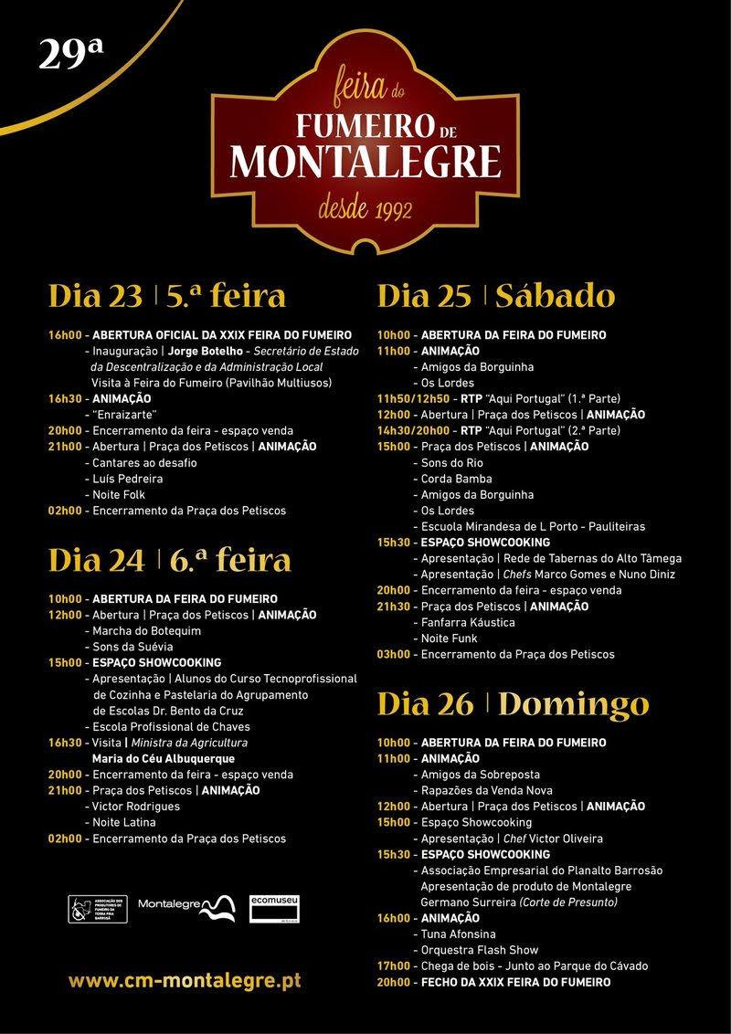 29ª Feira do Fumeiro de Montalegre inicía hoje   Peneda Gerês TV