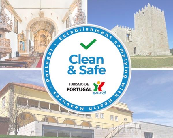 """Vários espaços culturais municipais em Arcos de Valdevez já foram contemplados com o Selo """"Clean&Safe"""", que certifica o cumprimento das recomendações da Direção-Geral da Saúde para evitar a contaminação dos espaços com o SARS-CoV-2."""