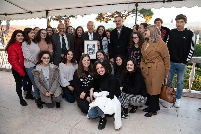 Agrupamento de Escolas de Ponte da Barca participa no programa 'CIENTISTAS NO PALÁCIO DE BELÉM' | Peneda Gerês TV