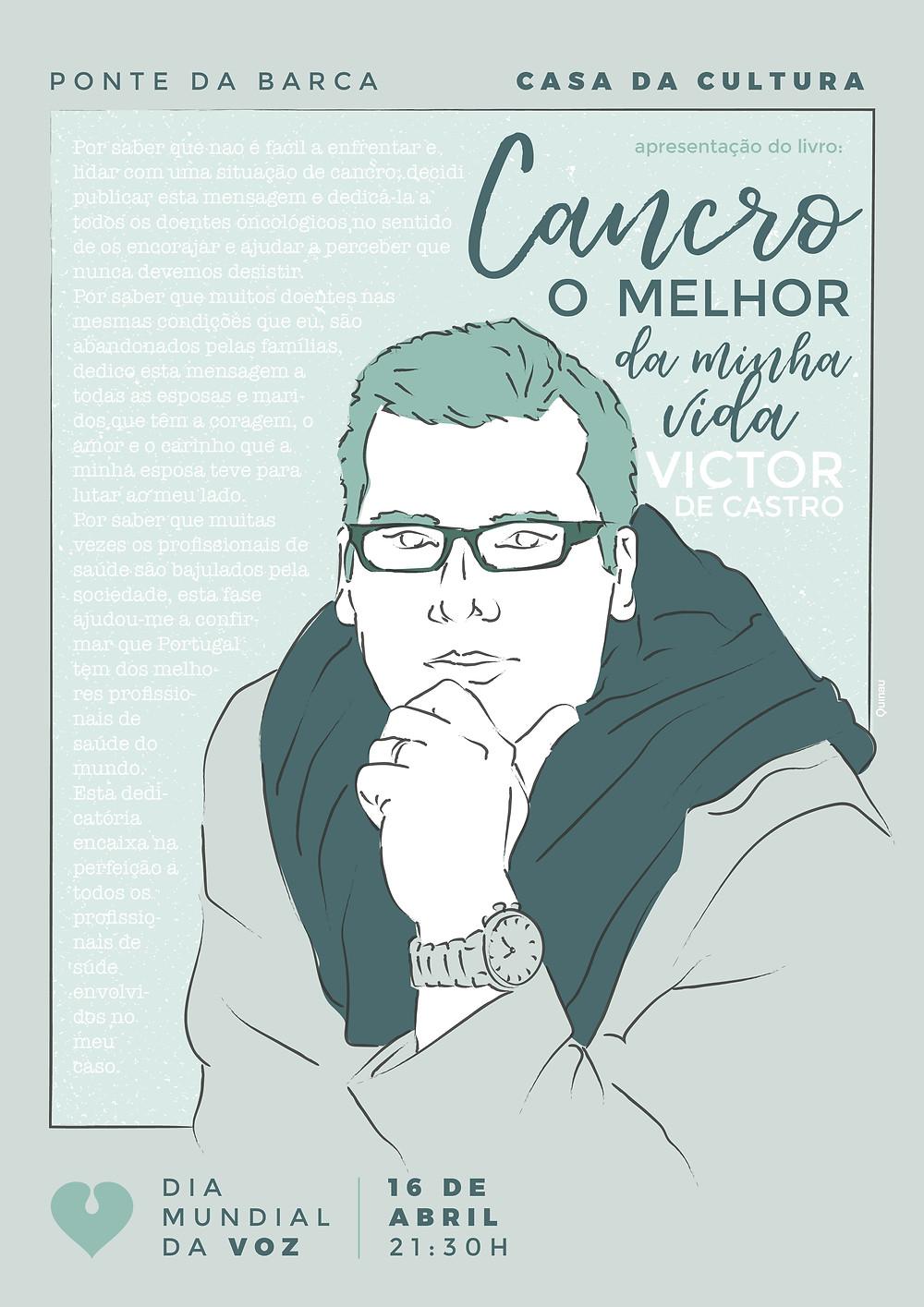 """""""Cancro – O Melhor da minha vida"""" de Victor de Castro apresentado em ponte da Barca   Peneda Gerês TV"""