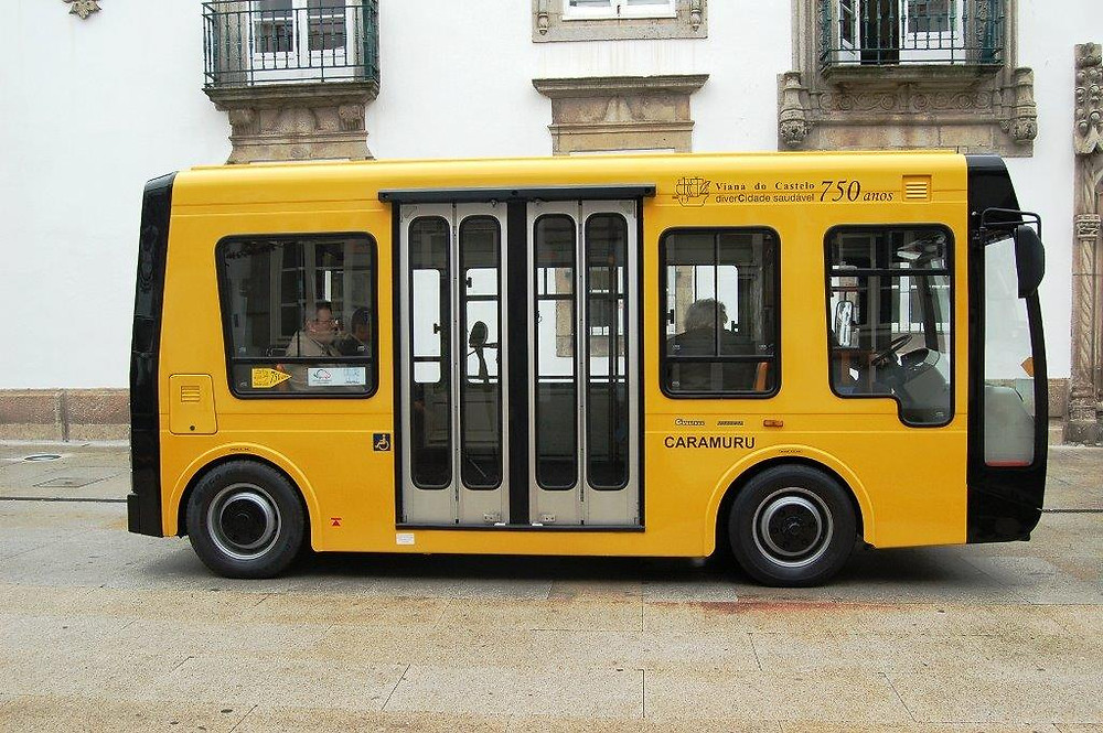 Mini-autocarros elétricos de Viana do Castelo já transportaram mais de meio milhão de passageiros | Peneda Gerês TV