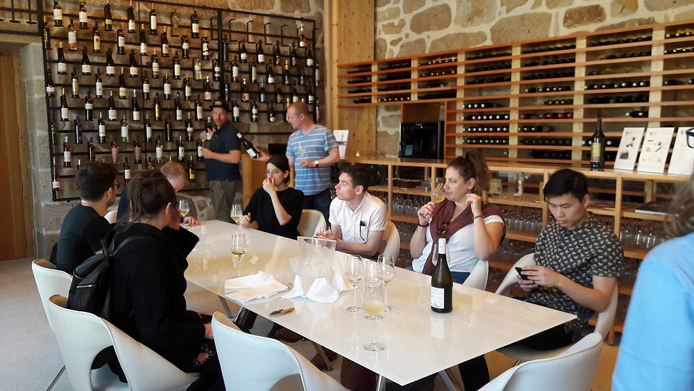 Centro de Interpretação e Promoção do Vinho Verde recebe a visita Sommeliers Canadianos | Peneda Gerês TV