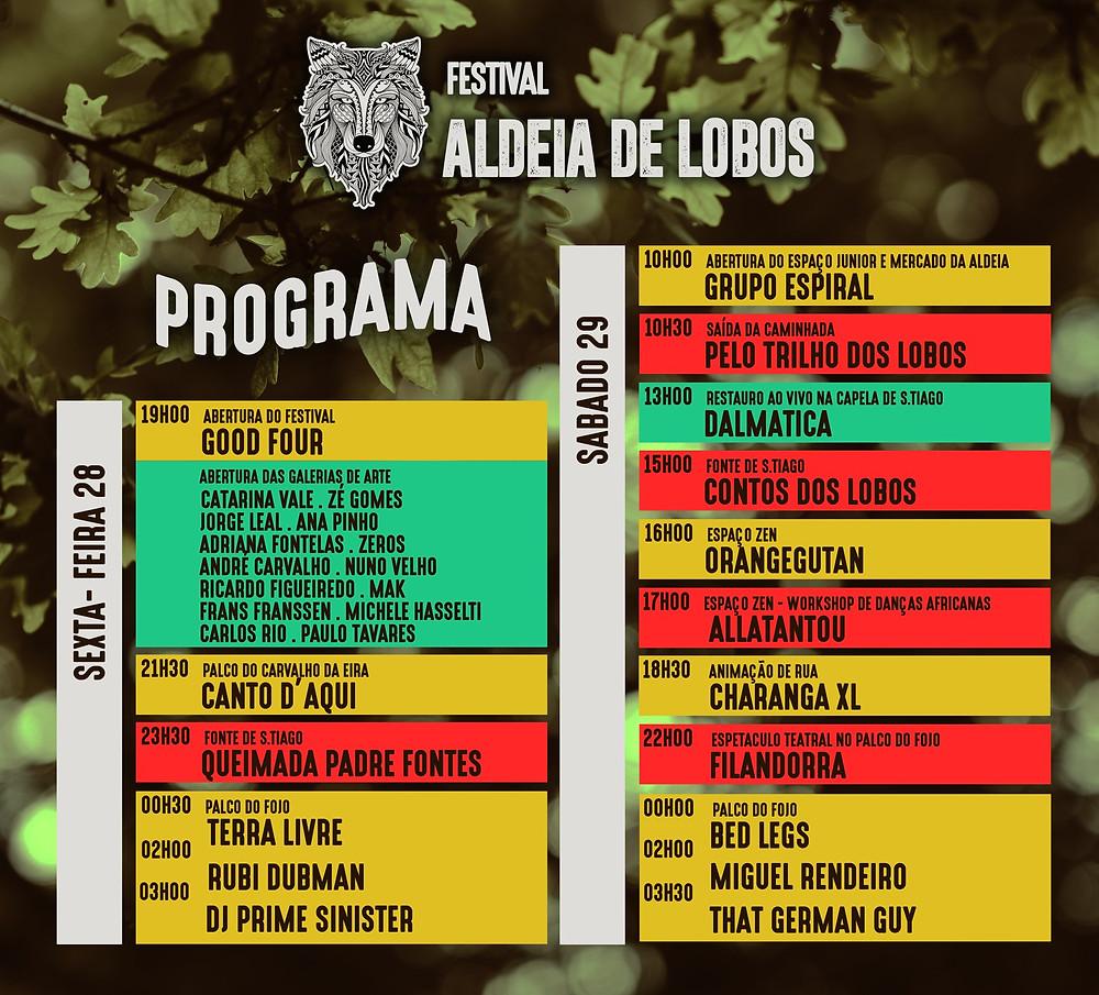 """Festival """"Aldeia de Lobos"""" - Programa   Peneda Gerês TV"""
