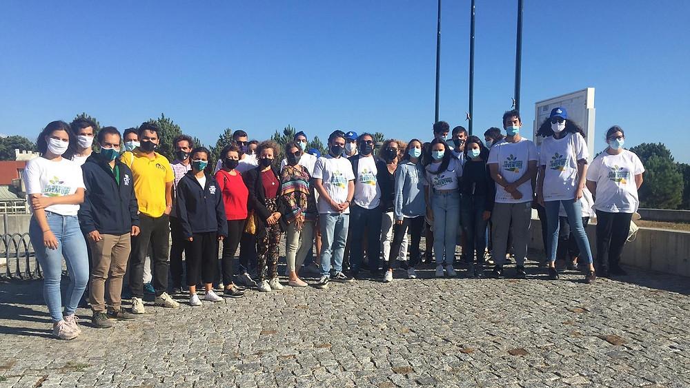 Praia do Cabedelo acolheu ações para assinalar Dia Internacional da Juventude