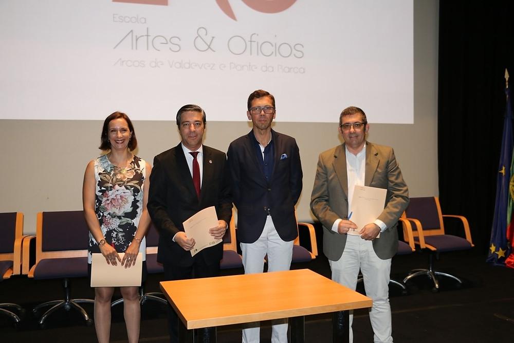 Celebrado protocolo de Colaboração para a Criação da Escola de Artes e Ofícios | Peneda Gerês TV