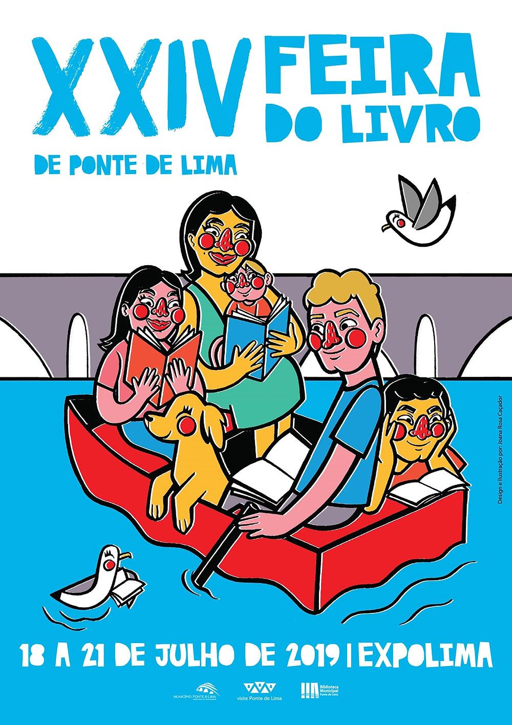 Cartaz da Feira do Livro| Peneda Geres TV