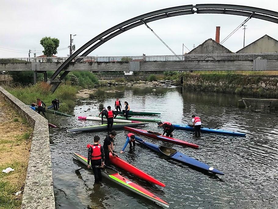 Atletas do DKC partiram à descoberta da Ria de Portuzelo em kayak
