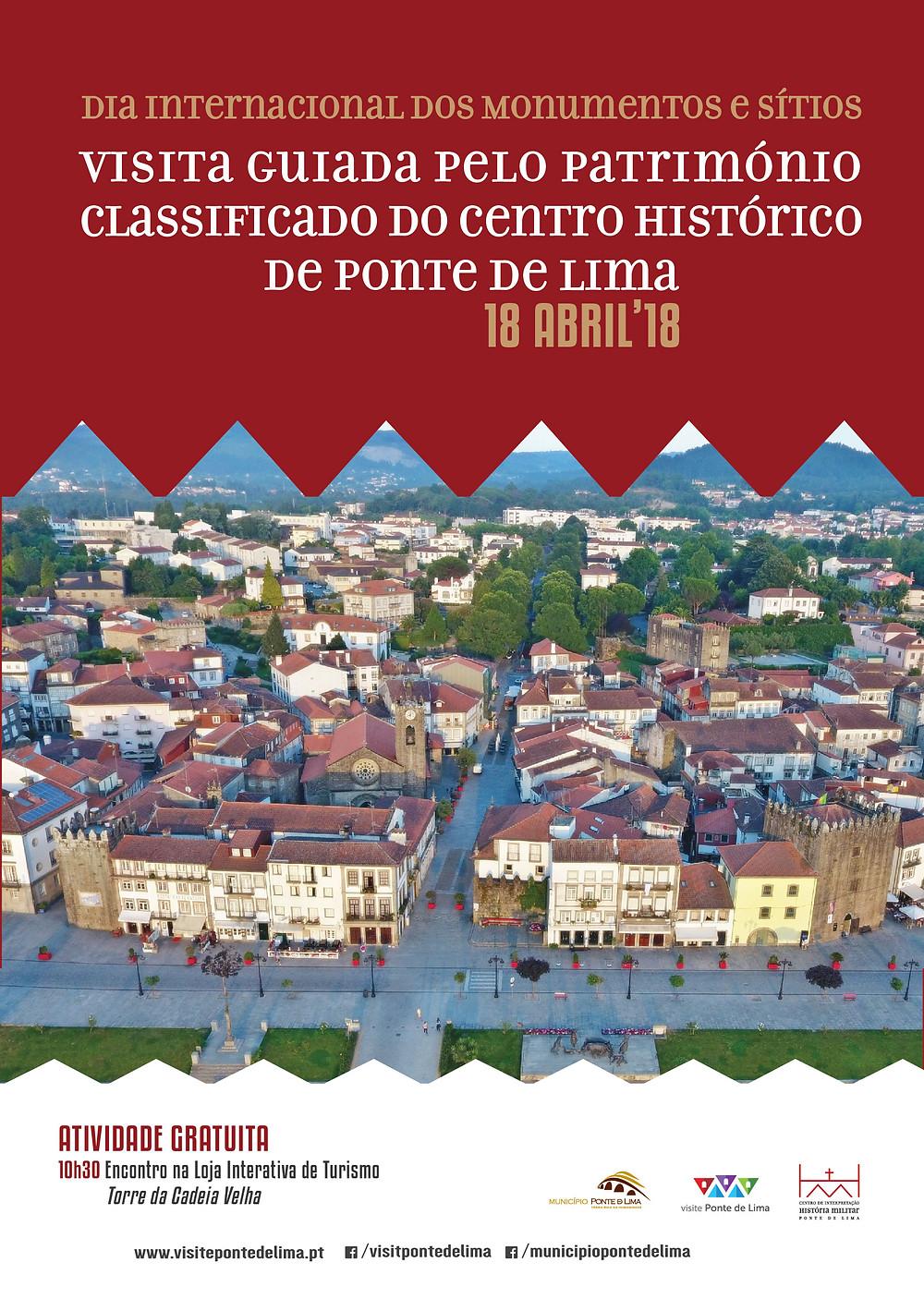 Visita Guiada ao Património Classificado do Centro Histórico de Ponte de Lima | Peneda Gerês TV