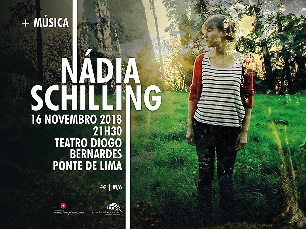 NÁDIA SCHILLING - Above the Trees no Teatro Diogo Bernardes a 16 de novembro | Peneda Gerês TV
