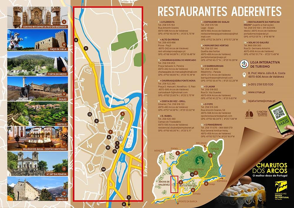 Restaurantes Aderentes | Peneda Gerês TV