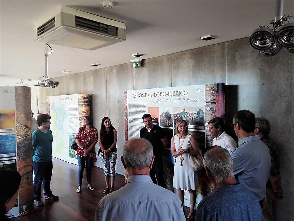 Inaugurada a Exposição O Lobo Ibérico em Portugal