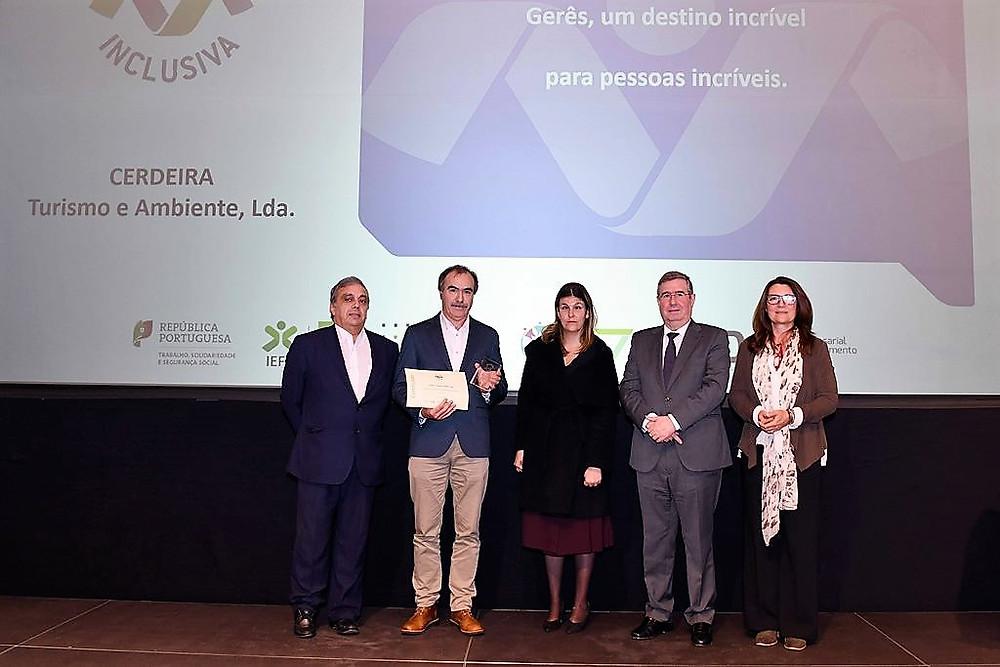 Parque Cerdeira ganha Prémio Entidade Empregadora Inclusiva 2019 | Peneda Gerês TV
