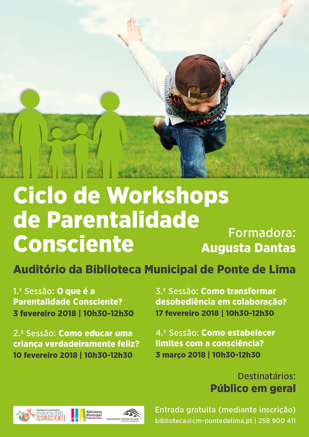 """Workshops de Parentalidade Consciente"""