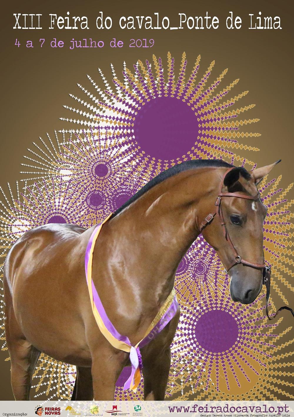 Cartaz da XIII Feira do Cavalo| Peneda Geres TV
