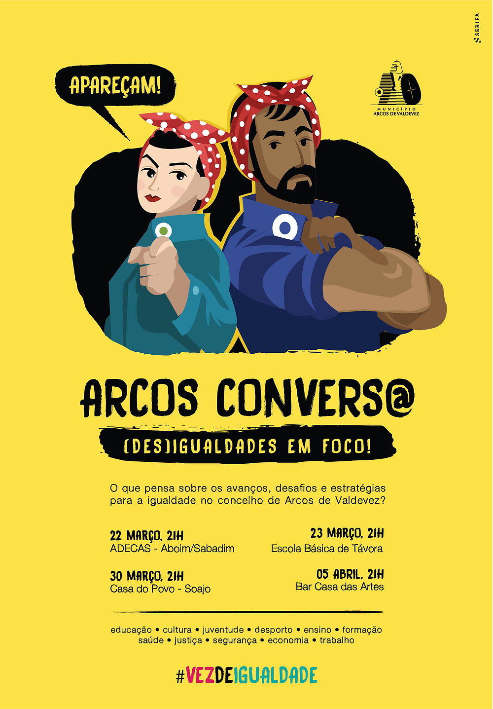 Arcos Convers@: (des)igualdades em foco | Peneda Gerês TV
