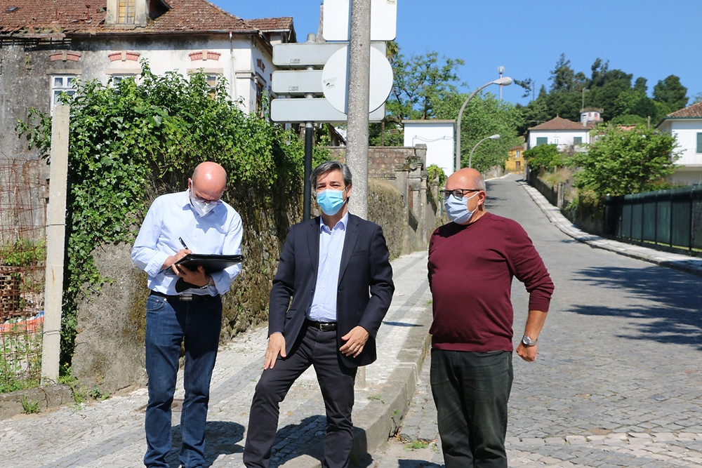 Avança a Reabilitação da Rua Padre Manuel Himalaya em Arcos de Valdevez