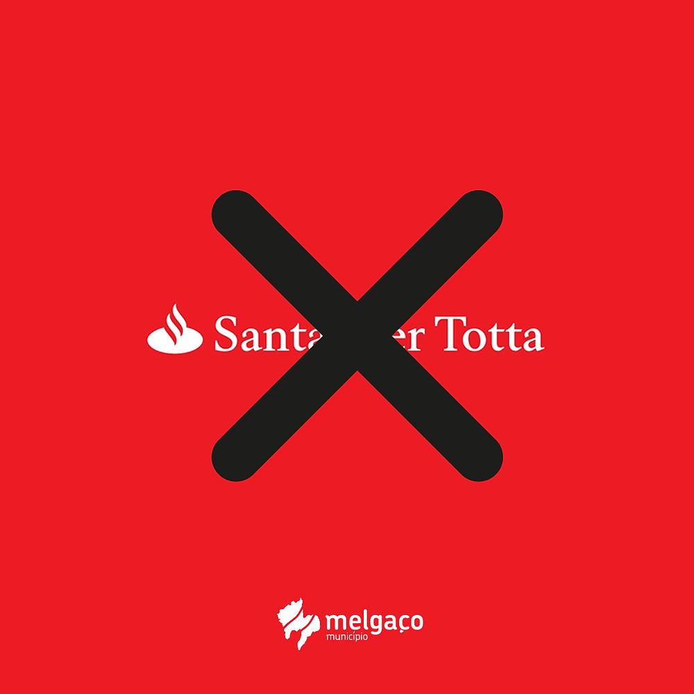 """Presidente da Câmara """"NÃO ACEITA"""" decisão do encerramento do balcão do banco Santander Totta em Melgaço e dirige dura carta à administração desta entidade."""