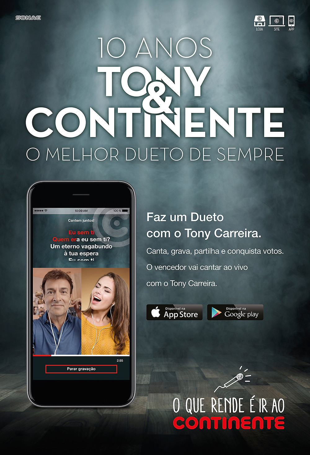 CANTE COM O TONY CARREIRA Peneda Gerês TV