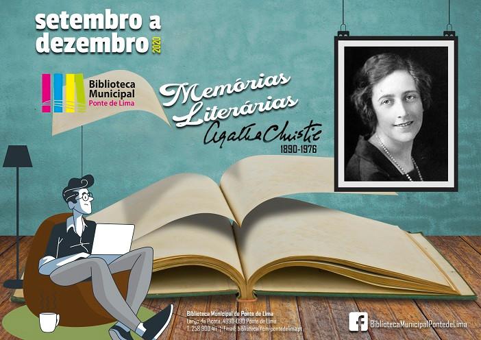 """O Município de Ponte de Lima, através da Biblioteca Municipal, vai evocar a """"rainha do romance policial"""" no ano em que se assinala a publicação do seu primeiro livro de literatura policial e no mês em que se celebra 130 anos do seu nascimento."""