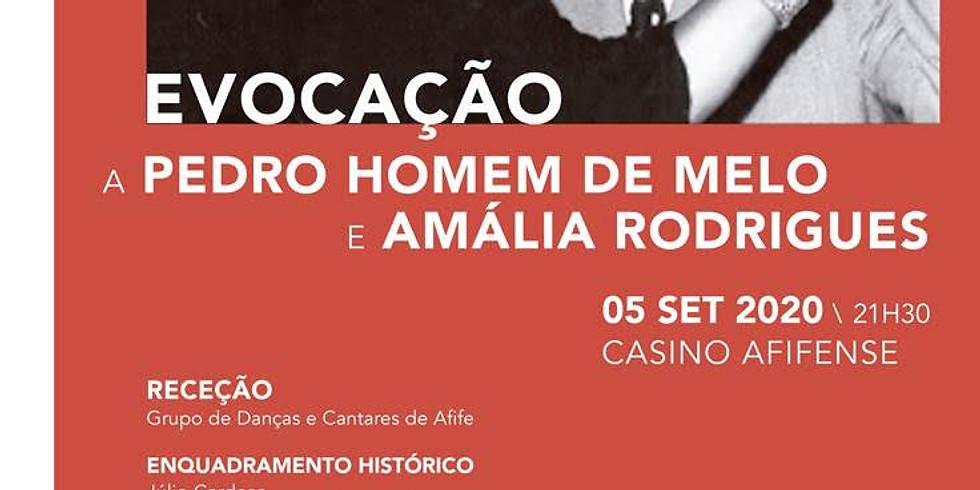 Pedro Homem de Melo e Amália Rodrigues