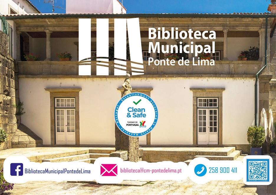BIBLIOTECA MUNICIPAL DE PONTE DE LIMA RECEBE SELO CLEAN & SAFE