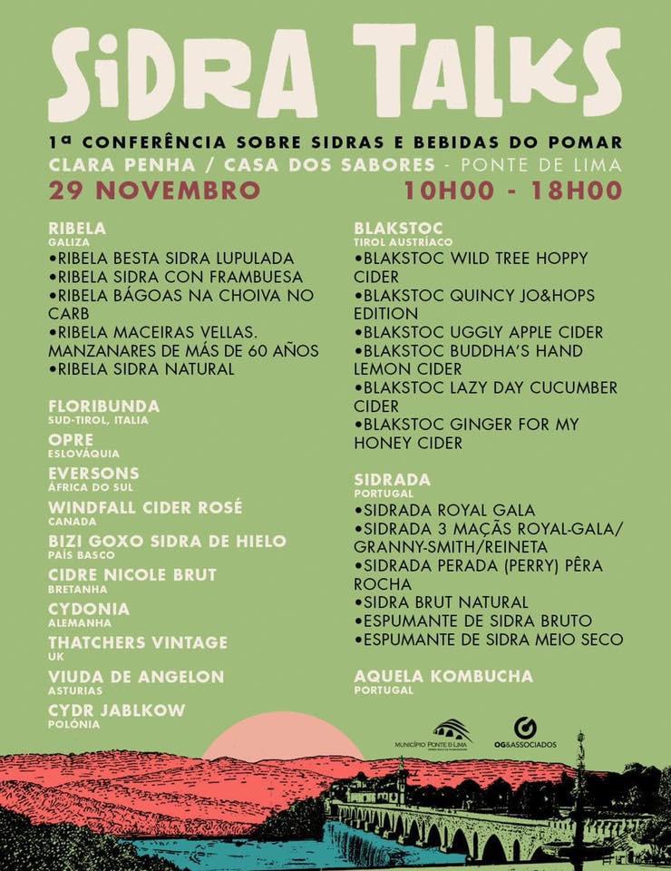 Programa - 1ª Conferência Internacional sobre Sidras e Bebidas do Pomar | Peneda Gerês TV