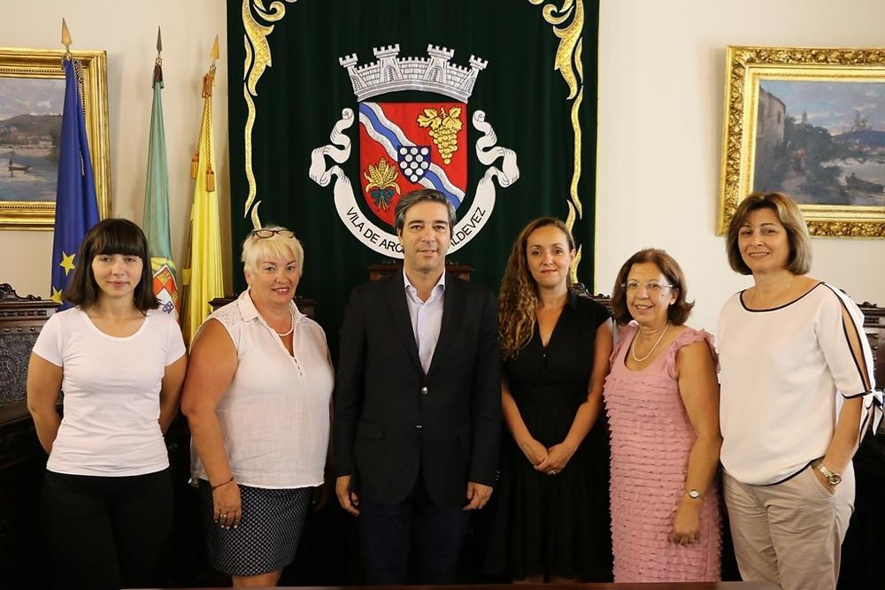 Arcuenses em França visitam Câmara Municipal | Peneda Gerês TV