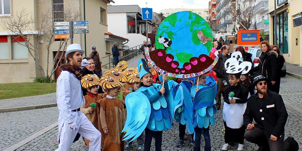 Folia carnavalesca em VN Cerveira