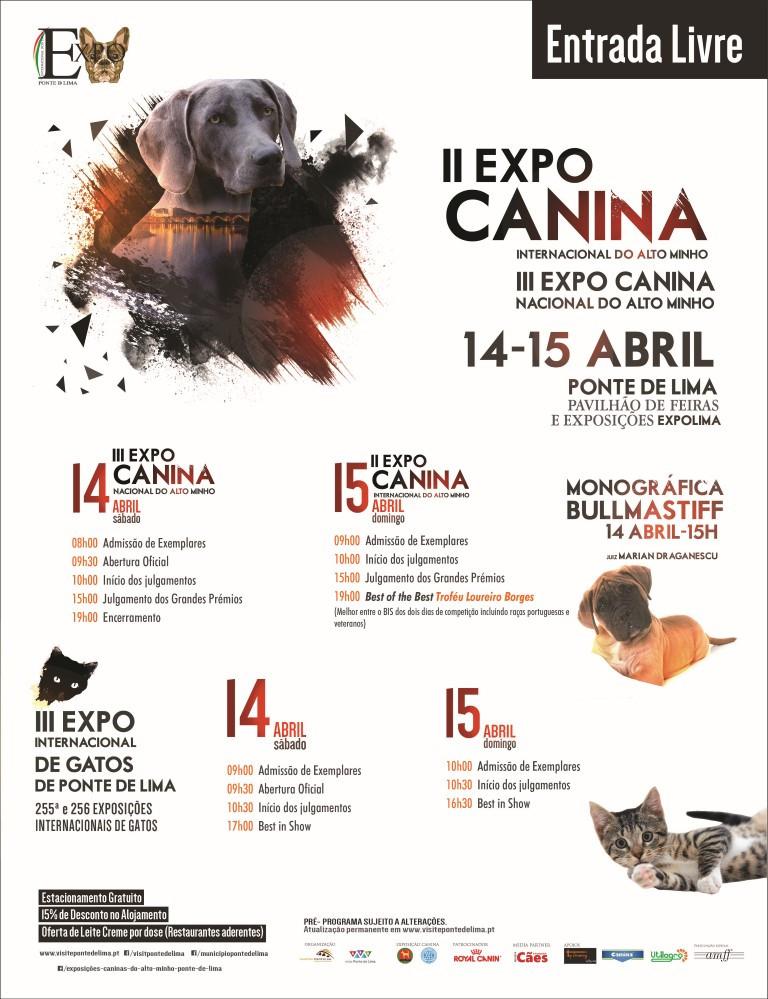 Ponte de Lima | III Exposição Canina Nacional e Internacional do Alto Minho | Peneda Gerês TV
