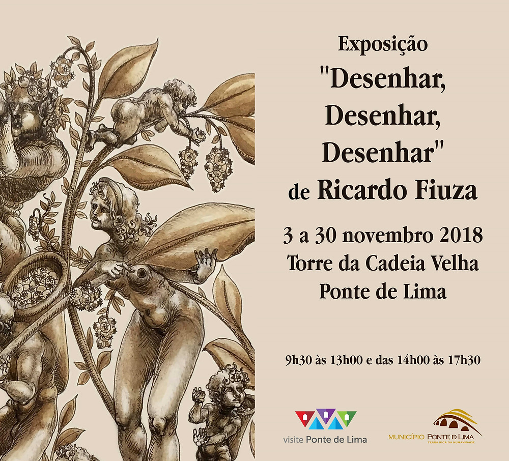 Exposição Desenhar, Desenhar, Desenhar de 3 a 30 de novembro | Peneda Gerês TV