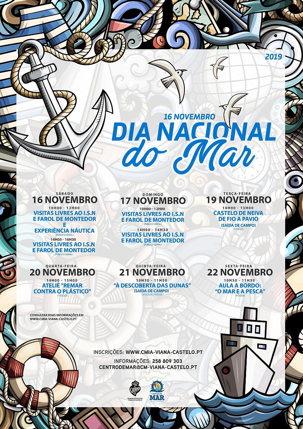 Viana do Castelo comemora a Semana do Mar de 16 a 22 de novembro | Peneda Gerês TV