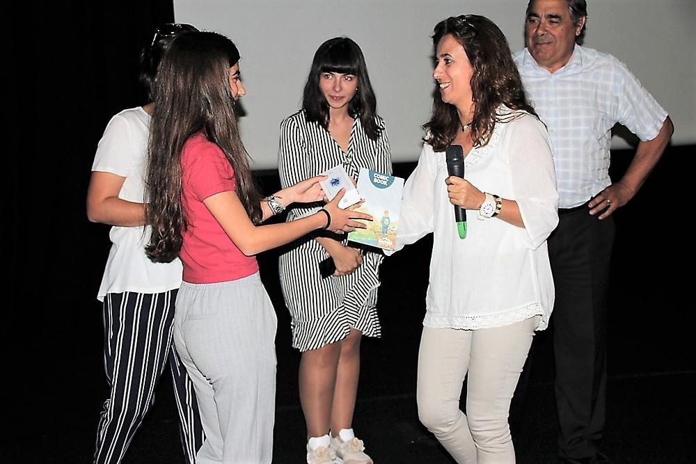 Aluna de Arcos de Valdevez ganhou concurso do projeto Gnómon   Peneda Gerês TV