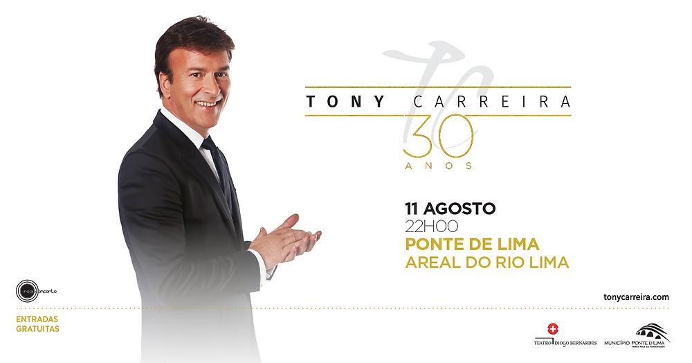 Tony Carreira regressa a Ponte de Lima   Peneda Gerês TV