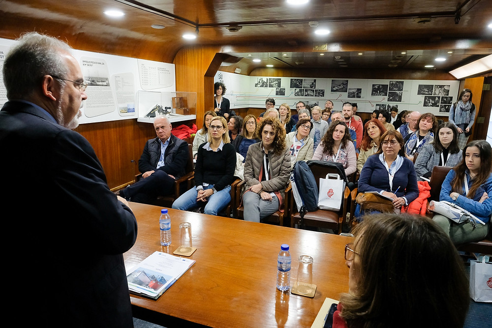 Navio Gil Eannes visitado por participantes de 8 países europeus | Peneda Gerês TV