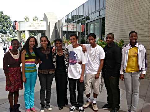 california african am museum  with proje