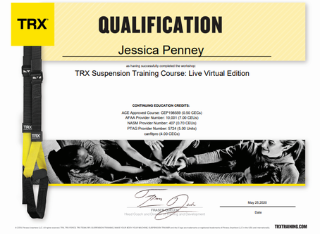 New Certifications!