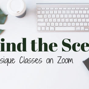 Behind the Scenes at Petite Physique on Zoom