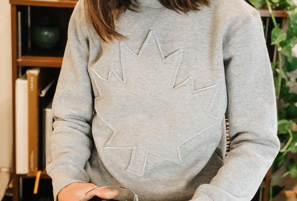 Adult CANADA Sweatshirt - Grey Mix