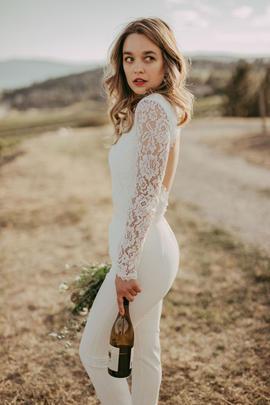 Bridal Pantsuit | Bridal Jumpsuit | Bridal Separates