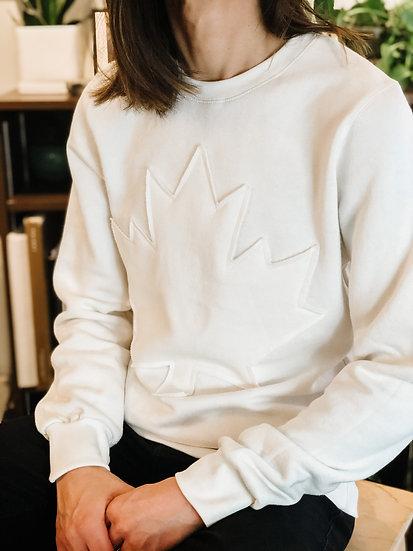 Adult CANADA Sweatshirt - Almond
