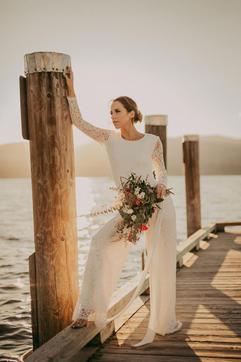 Bridal Separates Canada   Bridal Jumpsuit Canada