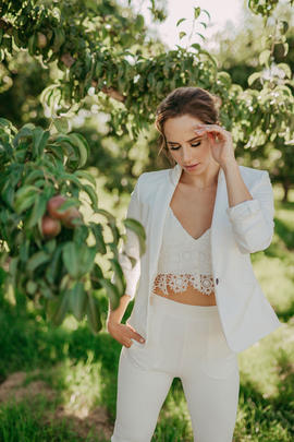 Bridal Pantsuit Okanagan | Bridal Separates Okanagan