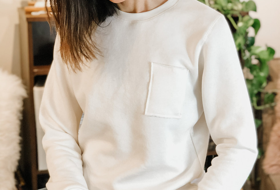 Adult Basic Sweatshirt - Almond