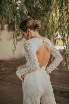 Two Piece Bridal | Bridal Jumpsuit | Bridal Pantsuit