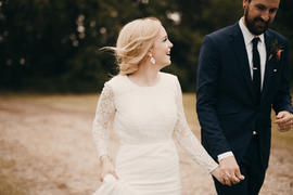 Custom Bridal | Prairie Wedding