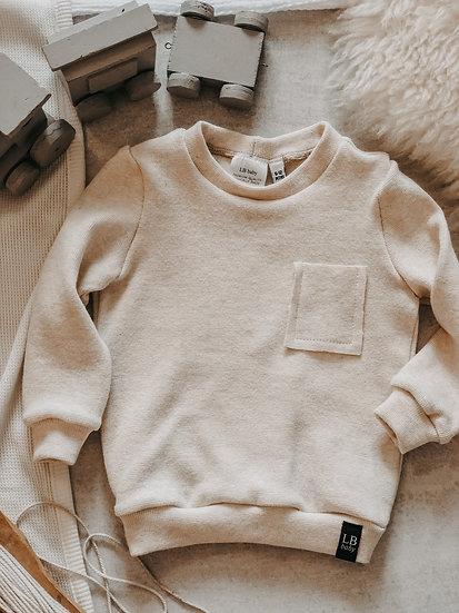 Cotton Basic Sweatshirt