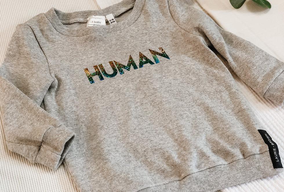 HUMAN Sweatshirt - Cotton
