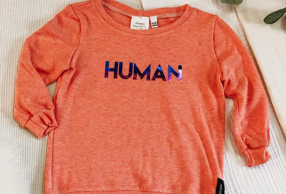 Human Sweatshirt - Bamboo Cotton